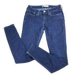 Levis | Super Skinny Dark Wash Jeans Jegging